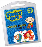 Family Guy Guitar Picks Multi Pack 1 (Set 5)