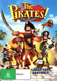 The Pirates! - Band of Misfits on DVD