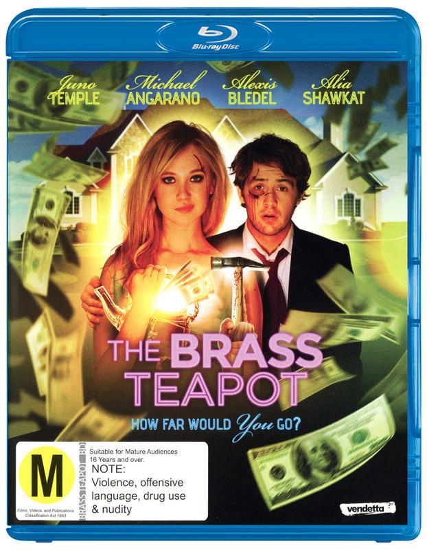 The Brass Teapot on Blu-ray