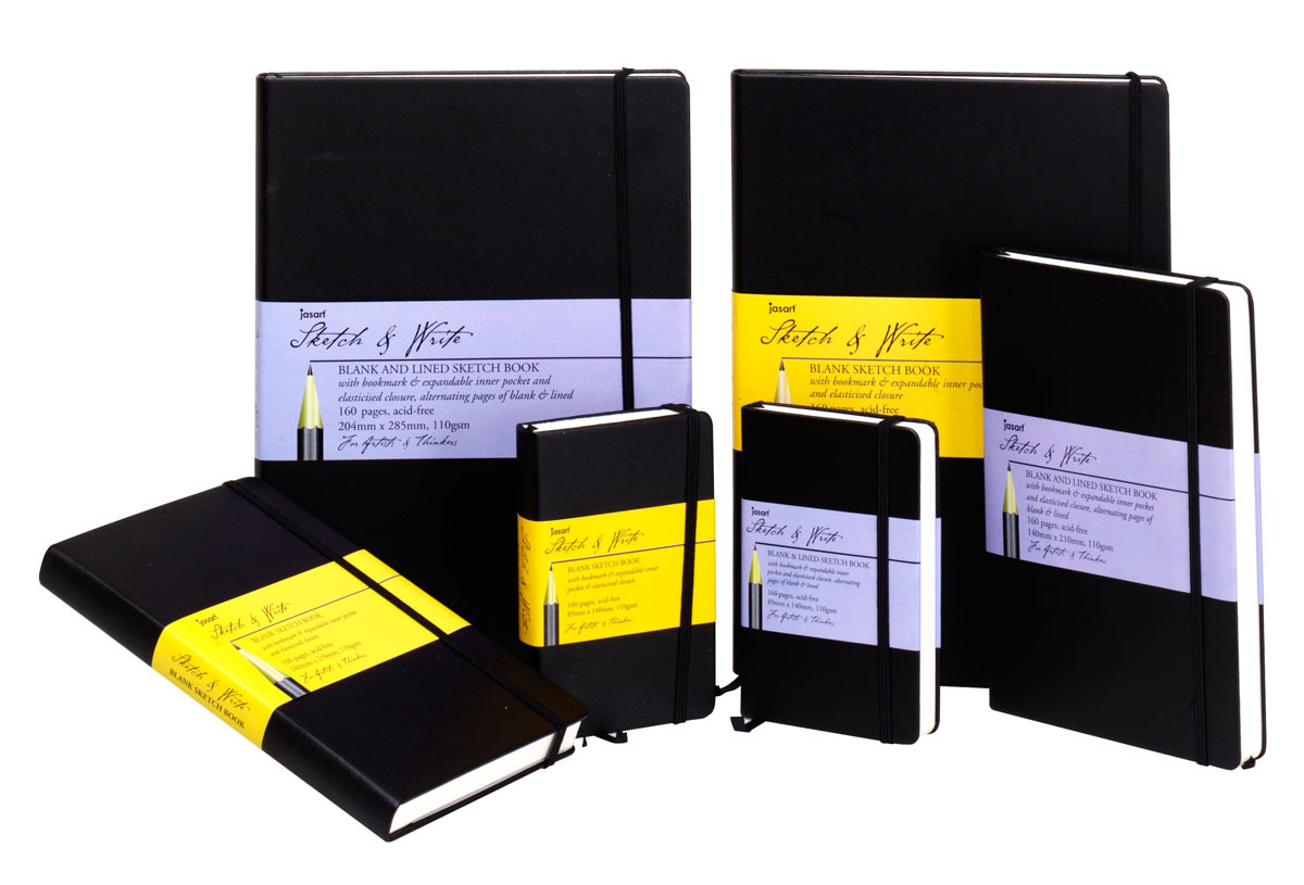 Jasart Sketch & Write Blank Sketch Book A5 image