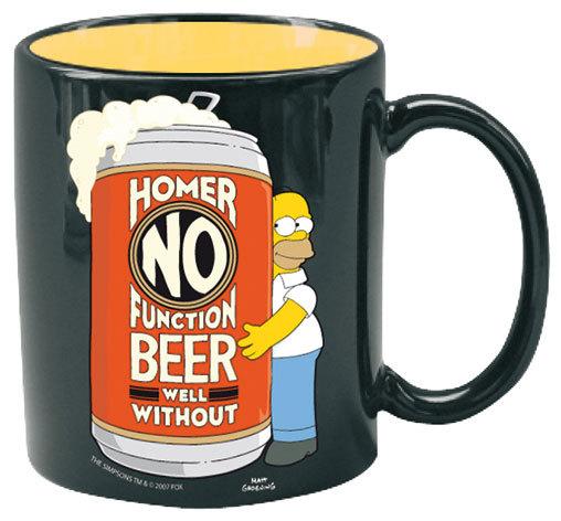 Simpsons: Homer No Function Mug image