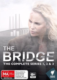 The Bridge - The Complete Series 1, 2 & 3 on DVD