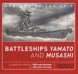 The Battleships Yamato and Musashi: Superanatomy by Janusz Skulski