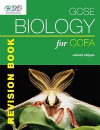 GCSE Biology for CCEA Revision Book by James Napier image
