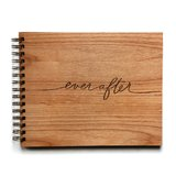 Cardtorial Wooden Guestbook - Ever After