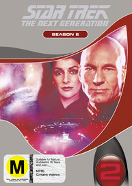 Star Trek: The Next Generation - Season 2 on DVD image