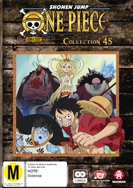 One Piece (Uncut) - Collection 45 (Eps 541 - 552) on DVD