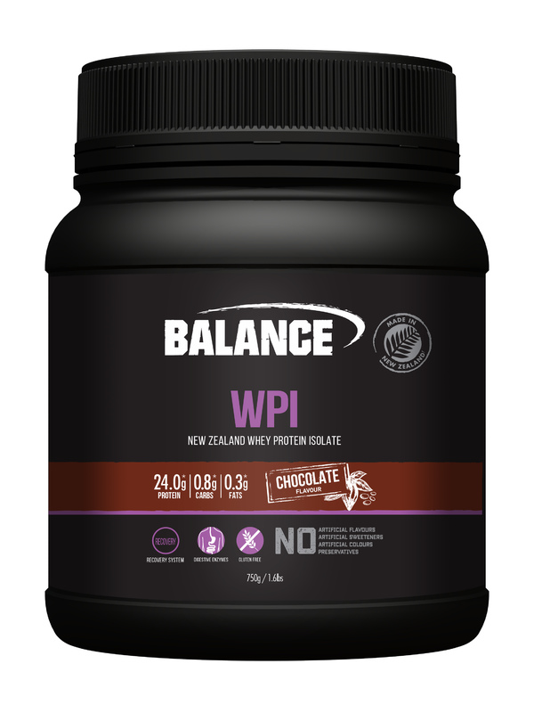 Balance WPI - Whey Protein Isolate Powder - Chocolate (750g)