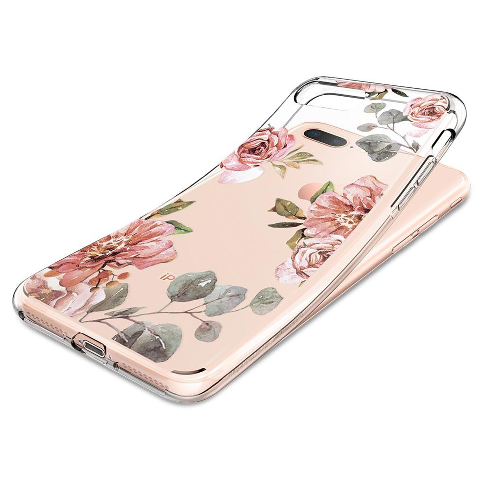 Spigen iPhone 8 Plus /7 Plus Liquid Crystal Case Aquarelle Rose image