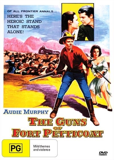 The Guns Of Fort Petticoat on DVD image