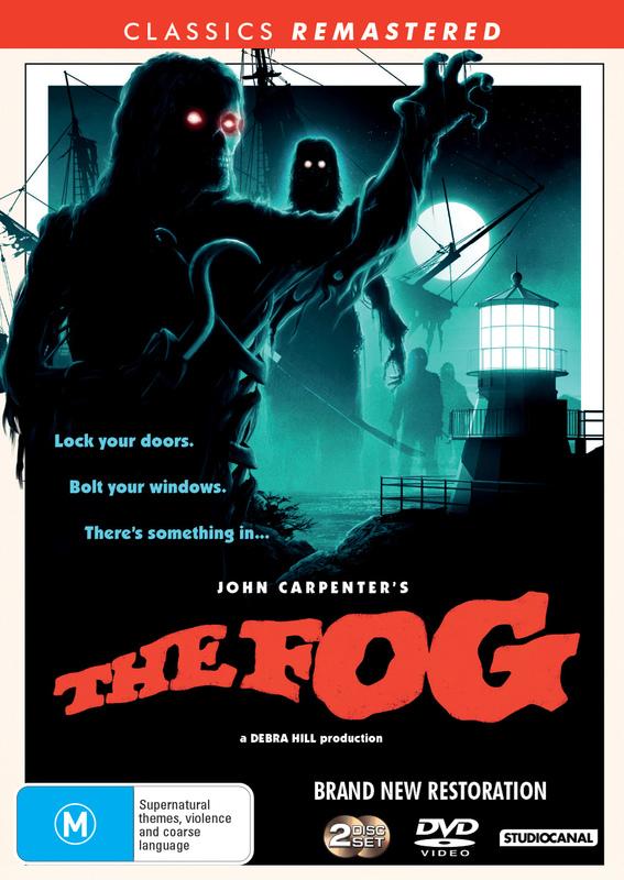 The Fog (1980) on DVD