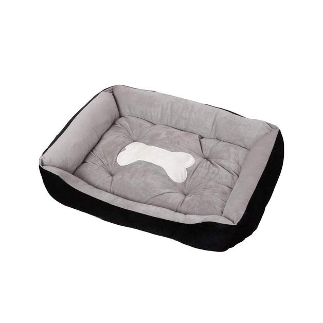 Ape Basics: Pet Kennel Warm Four Seasons Pet Mat - Grey (Large)