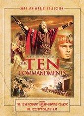 Ten Commandments, The - Anniversary Edition (3 Disc Set) on DVD
