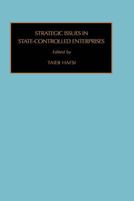 Strategic Issues in State-owned Organizations
