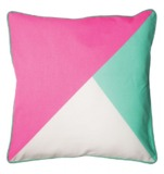 General Eclectic Tri Colour Cushion