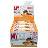 MyBar - Peanut Butter Crunch (12 x 55g)