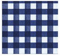 Francoise Paviot Napkins - Checks Blue (20 Pack)