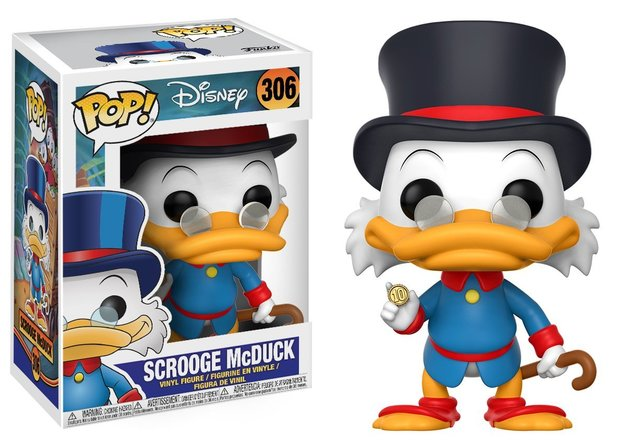Duck Tales - Scrooge McDuck Pop! Vinyl Figure