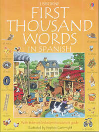 First Thousand Words in Spanish by Heather Amery image