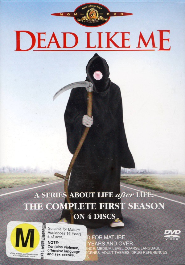 Dead Like Me - Complete Season 1 (4 Disc Set) on DVD image