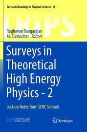Surveys in Theoretical High Energy Physics - 2