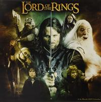 The Lord of the Rings 2019 Square Wall Calendar