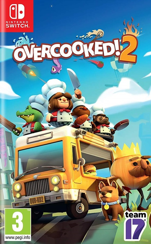 Overcooked 2 for Switch