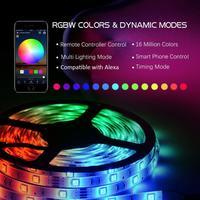 Ape Basics WiFi Wireless Smart Phone Controlled Light Strip - 5 Meters image
