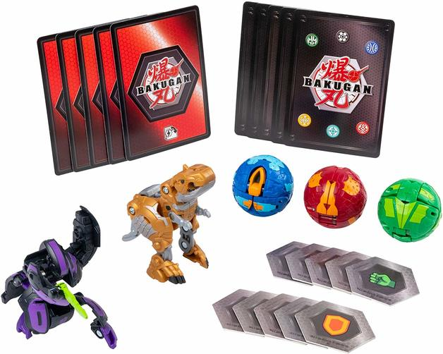 Bakugan: Battle Planet - Battle Pack (Darkus Cyndeous & Aurelus Trox)