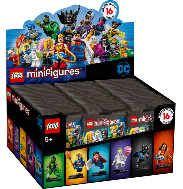 LEGO Minifigures - DC Super Heroes Series (Sealed-Box)