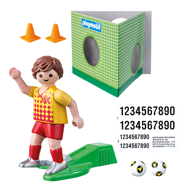 Playmobil: Special Plus - Soccer Player with Goal (70157)