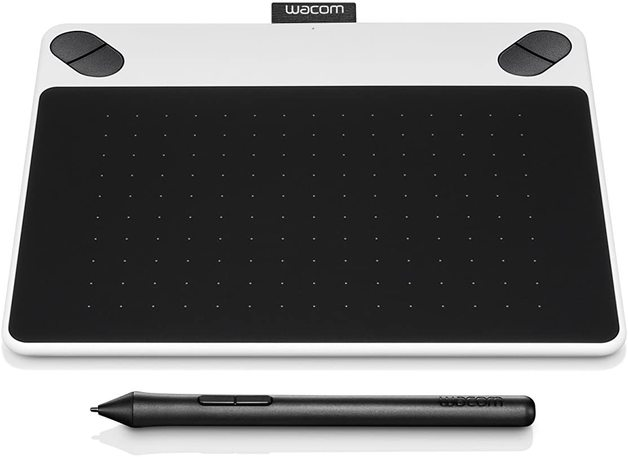 Wacom Intuos Draw Pen Tablet (Small / White)