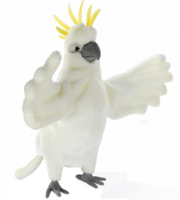 Hansa: Cockatoo - Plush Puppet (43cm)