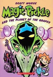 Magic Pickle and the Planet of the Grapes by Scott Morse image