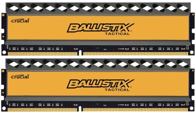 2x4GB Crucial Ballistix Tactical DDR3 1866MHz