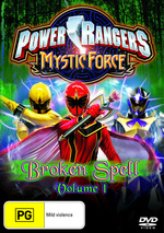 Power Rangers - Mystic Force: Vol. 1 - Broken Spell on DVD