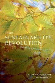 The Sustainability Revolution by Andres R. Edwards image