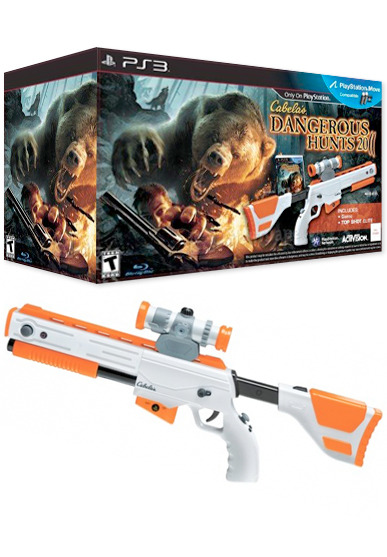 Toys From Cabela S : Cabela s dangerous hunts with elite gun bundle ps