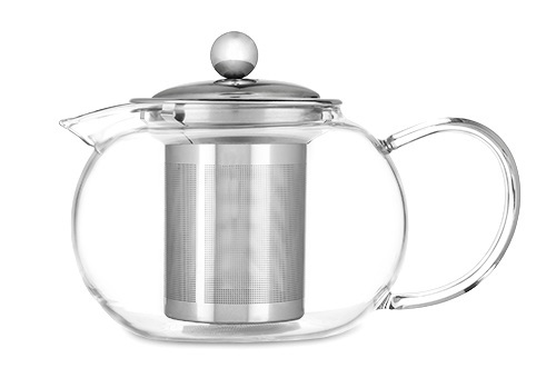 Pinky Up: Candace Glass - Teapot & Infuser