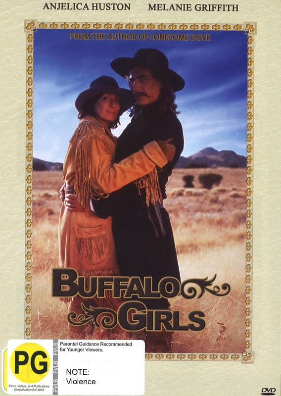 Buffalo Girls on DVD