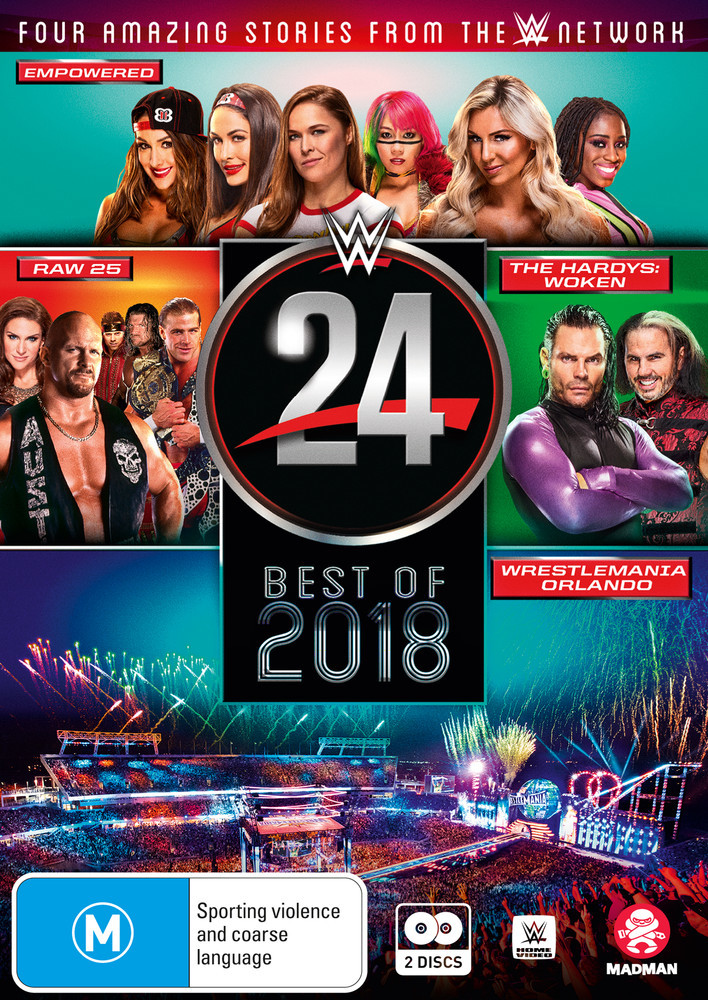 WWE: WWE 24: The Best Of 2018 on DVD image