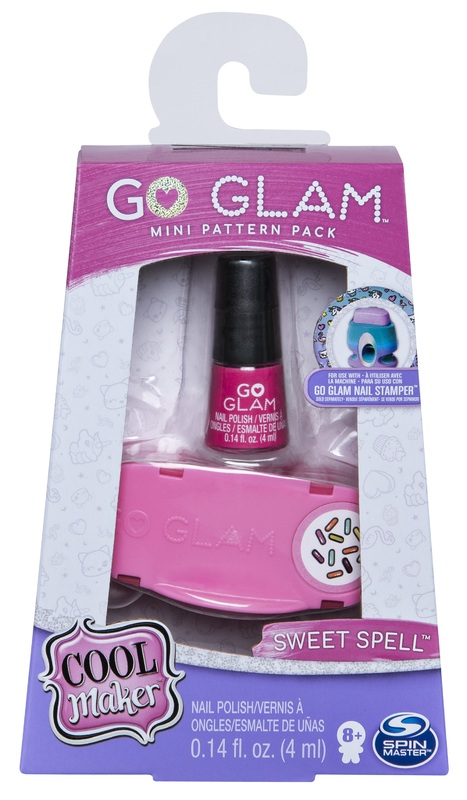Cool Maker: Go-Glam Nails - Fashion Mini Refill (Sweet Spell)