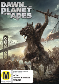Dawn of the Planet of the Apes on DVD