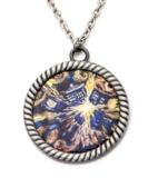 Doctor Who Van Gogh Tardis Necklace
