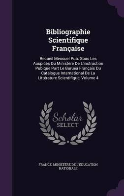 Bibliographie Scientifique Francaise