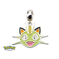 Pokemon Meowth Sterling Silver Dangle Charm