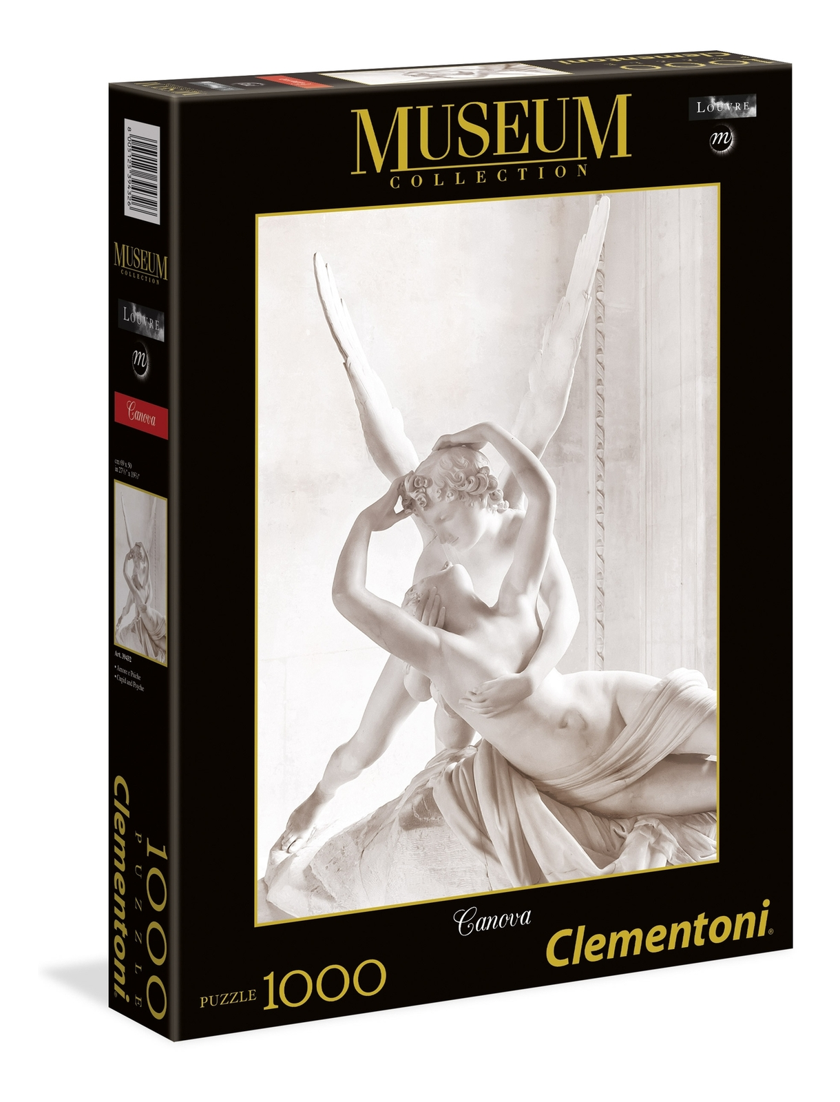 Clementoni Museum: 1000-Piece Puzzle - Cupid and Psyche image