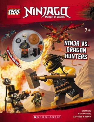 LEGO Ninjago: Ninja Vs. Dragon Hunters + Minifigure by Ameet Studio