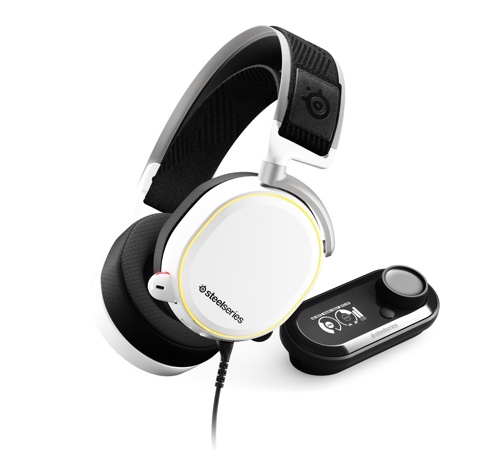 SteelSeries Arctis Pro + GameDAC Headset (White) for  image