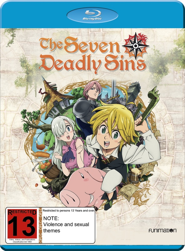 Seven Deadly Sins: Season 1 on Blu-ray